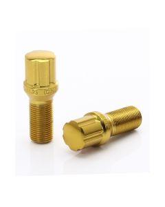 VitiJB1 di colore oro, passo 14x1.5 e sede conica 60°.