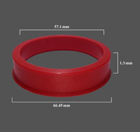 Nuovo anello di centraggio 66.45x57.1